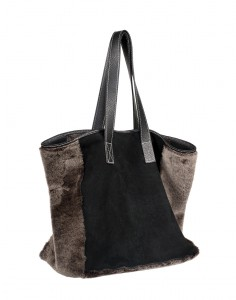 bolso mouton double-face