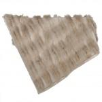 plaids de pell de renard per a la decoració