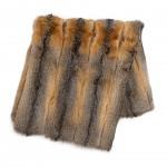 mantes decoració de pell de renard