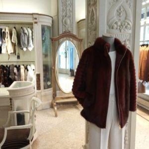 abrigo vison barcelona